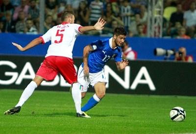 Lorenzo Insigne in Nazionale (Infophoto)