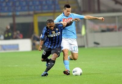 Inter-Napoli è il big match della giornata (Infophoto)