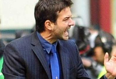 La grinta di Stramaccioni (Infophoto)