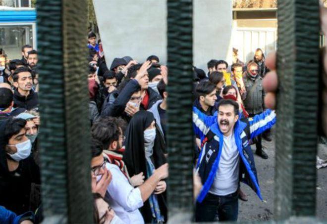 Proteste in Iran (foto da Instagram)
