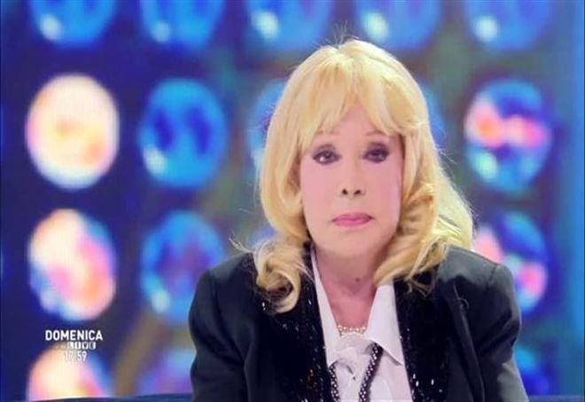 Isabella Biagini, foto da Domenica Live
