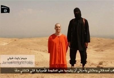 Il reporter Usa James Foley poco prima di morire (Immagine d'archivio)