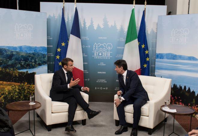 Italia vs Francia: scontro fra Conte e Macron (LaPresse)