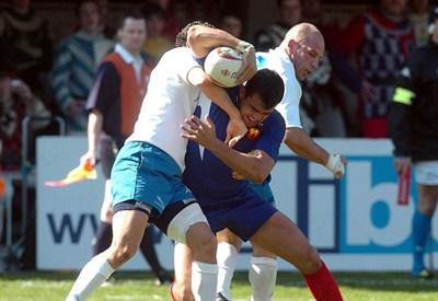 una gara di rugby (infophoto)