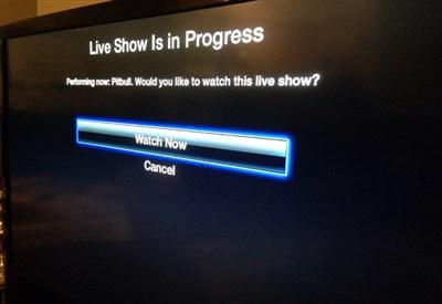 Apple TV con una Notifica Push