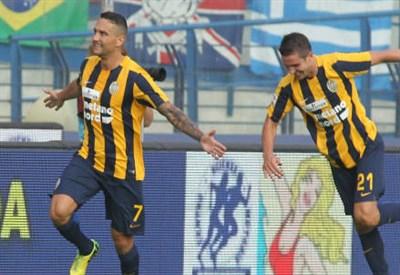 Jankovic e Gomez (Infophoto)