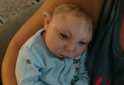 Il piccolo Jaxon Buell (foto mirror.co.uk)
