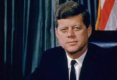 John Fitzgerald Kennedy (1917-1963) (Immagine d'archivio)