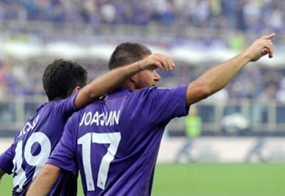 Joaquin Sanchez Rodriguez, 32 anni, centrocampista spagnolo della Fiorentina (INFOPHOTO)