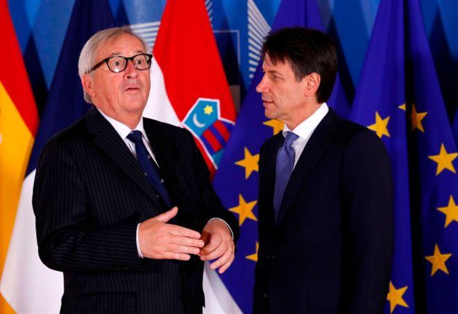 Juncker boccia la Manovra del Governo Conte (LaPresse)