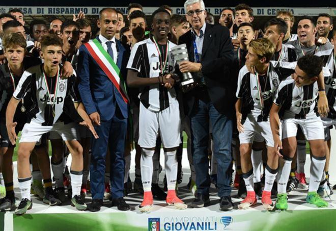La Juventus Under 15 sfidera il Parma nella Supercoppa di categoria (foto FIGC/SGS)