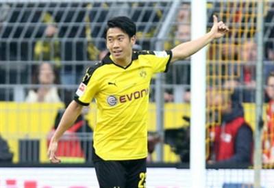 Shinji Kagawa, 26 anni, centrocampista giapponese del Borussia Dortmund (INFOPHOTO)