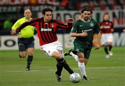 Kakà in Milan-Celtic del 2007 (Infophoto)