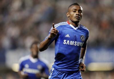 Salomon Kalou, 26 anni, punta ivoriana del Chelsea in scadenza di contratto (INFOPHOTO)