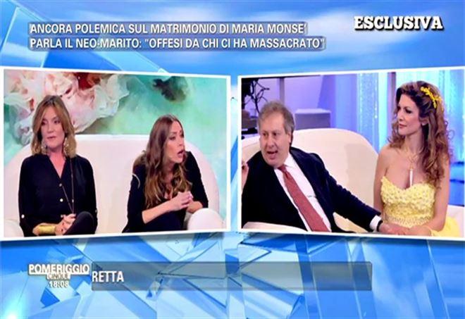 Maria Monsè a Pomeriggio 5