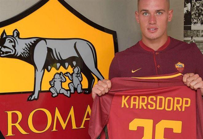 Roma, ecco Karsdorp: allenamento in gruppo per l'olandese. E Bruno Peres…