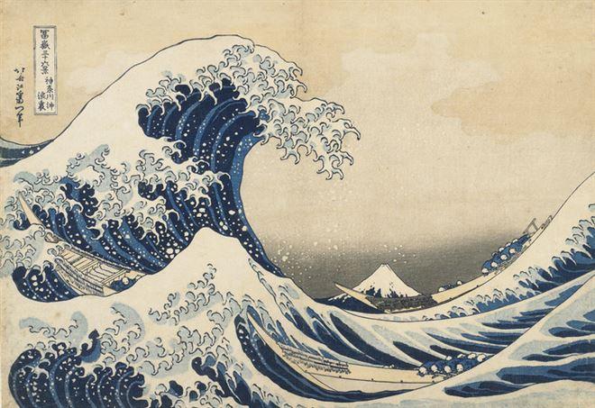 Katsushika Hokusai, La grande onda di Kanagawa (1830)