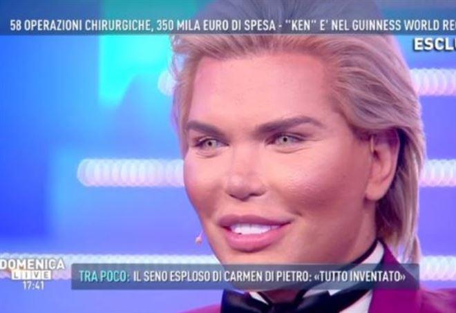 Giulia Latini a Domenica Live: 'ecco la mia verità'