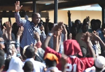 In Kenya dopo la strage (Infophoto)