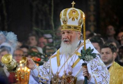Il Patriarca russo Kirill (Infophoto)