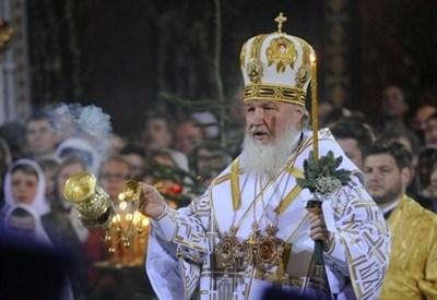 Il patriarca Kirill (Infophoto)