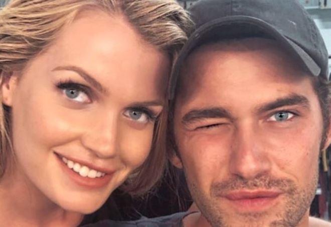 Kitty Spencer e Alessandro Morelli (Instagram)