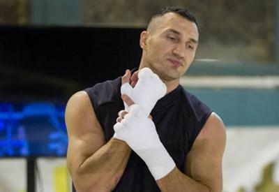 Wladimir Klitschko, 39 anni, ucraino (INFOPHOTO)