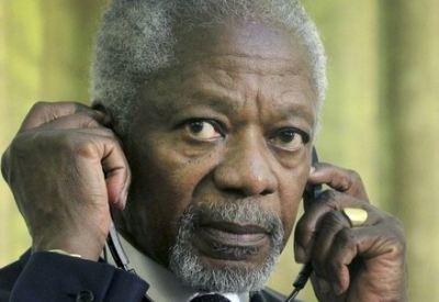 Kofi Annan (InfoPhoto)