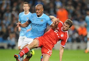 Video/ Manchester City-Bayern Monaco (3-2): i gol di Aguero (tripletta), Xabi Alonso e Lewandowski (oggi 25 novembre 2014, Champions League gruppo E)