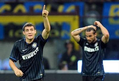 Osvaldo, ex attaccante Inter (Infophoto)