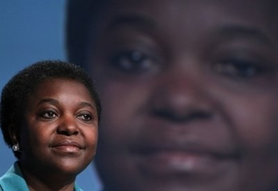 Cecile Kyenge, immagine d'archivio (infophoto)
