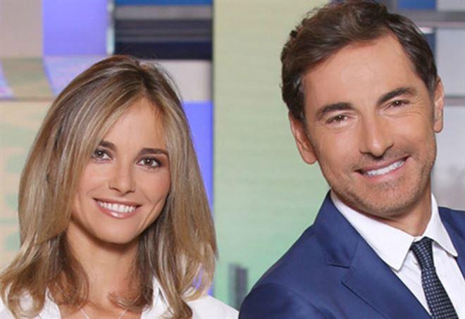 Francesca Fialdini e Marco Liorni