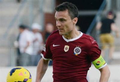 David Lafata, 33 anni, capitano dello Sparta Praga (dall'account Twitter ufficiale @EuropaLeague)