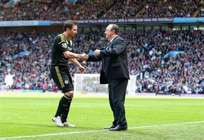 Frank Lampard e Rafa Benitez (Infophoto)