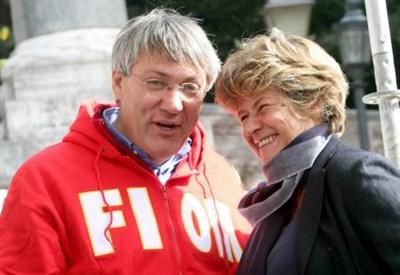 Maurizio Landini e Susanna Camusso (Infophoto)