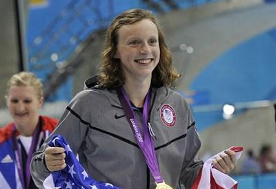Katie Ledecky, 18 anni, statunitense (INFOPHOTO)
