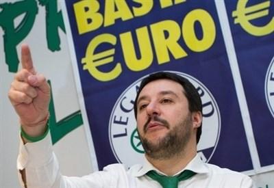 Il capo del Carroccio, Matteo Salvini (Infophoto)