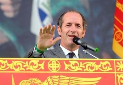 Il governatore del Veneto, Luca Zaia (Infophoto)