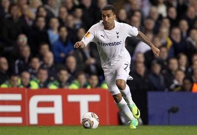 Aaron Lennon, 25 anni, ala destra del Tottenham Hotspurs (INFOPHOTO)