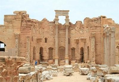 Anche Leptis Magna farà la fine di Palmira? (immagine dal web)