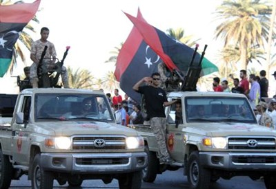 Miliziani in Libia