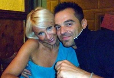 Gisella Mazzoni e Alessio Loddo (Infophoto)