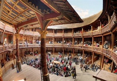 Il Globe Theatre a Londra (Foto dal web)