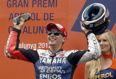 Jorge Lorenzo sta dominando il Mondiale MotoGp 2012 (Infophoto)