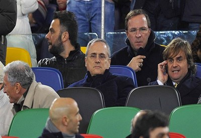 Lotito, presidente Lazio (Infophoto)