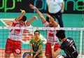 Diretta / Perugia-Civitanova (1-1: 25-19, 22-25) info streaming video e tv: risultato live (Champions League)