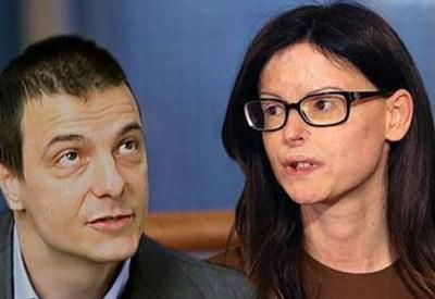Luca Varani e Lucia Annibali