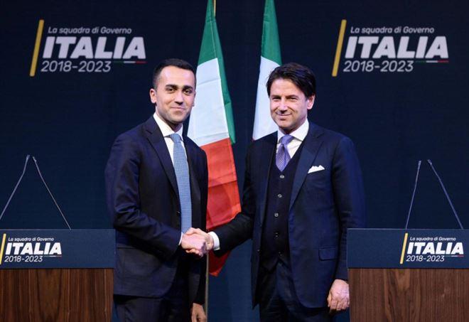 Giuseppe Conte e Luigi Di Maio (LaPresse)