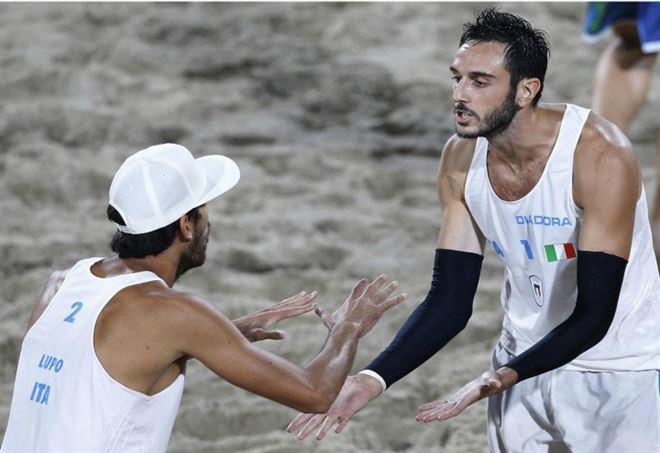 Europei beach volley, Nicolai-Lupo ancora campioni