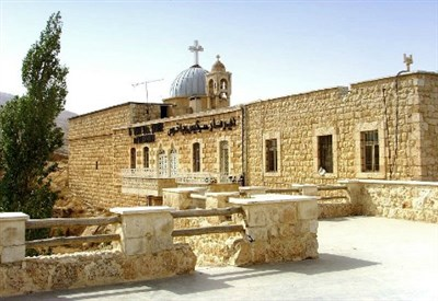 Il monastero di San Sergio a Maalula